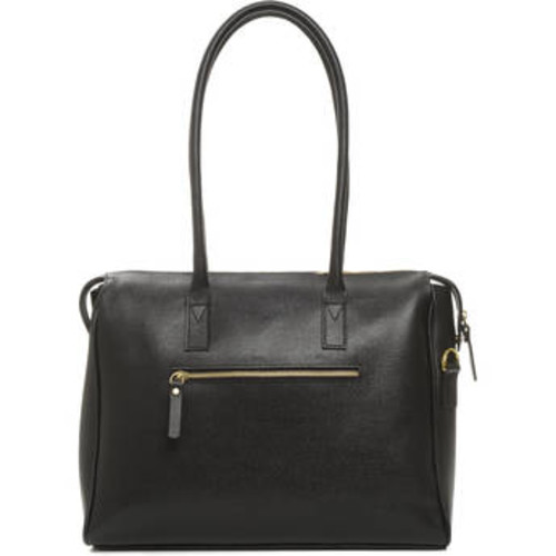 The Madison Camera and Laptop Bag (Black, Leather)