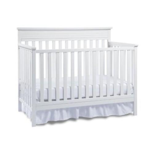 Fisher-Price Newbury Crib with Bonus Toddler Rail, Snow White