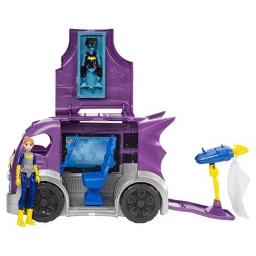DC Super Hero Girls Headquarters on Wheels Playset