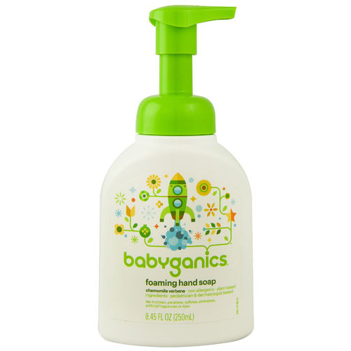 Babyganics Foaming Hand Soap Chamomile Verbena -- 8.45 fl oz