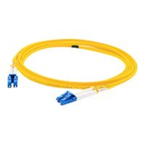 AddOn Networks 50m Single-Mode fiber (SMF) Duplex LC/LC OS1 Yellow Patch Cable (ADD-LC-LC-50M9SMF)