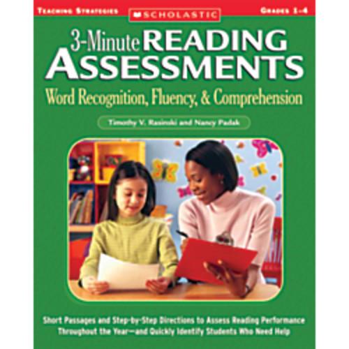 Scholastic Reading Assessment Grades 1-4