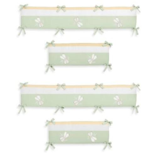 Sweet Jojo Designs Dragonfly Dreams Crib Bumper in Green
