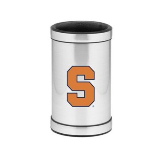 Kraftware NCAA Wine Chiller in Brushed Chrome; Syracuse