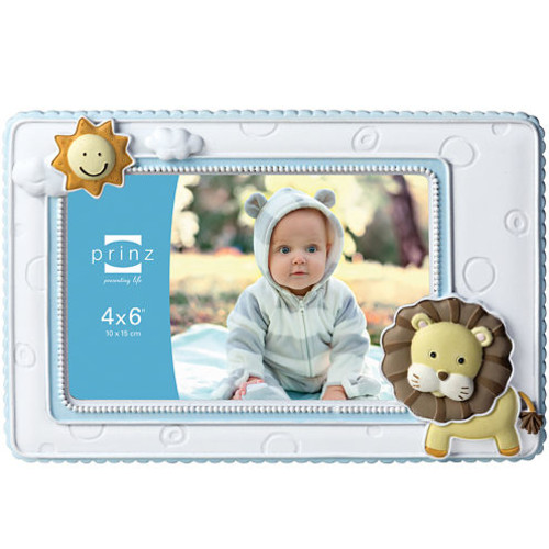 Born To Be Wild Lion Picture Frame