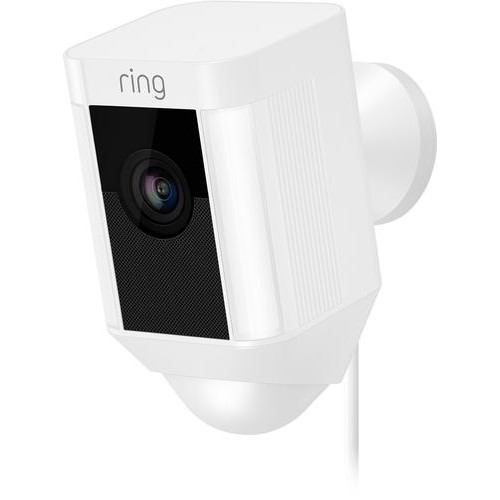 Ring - Spotlight Cam Wired - White