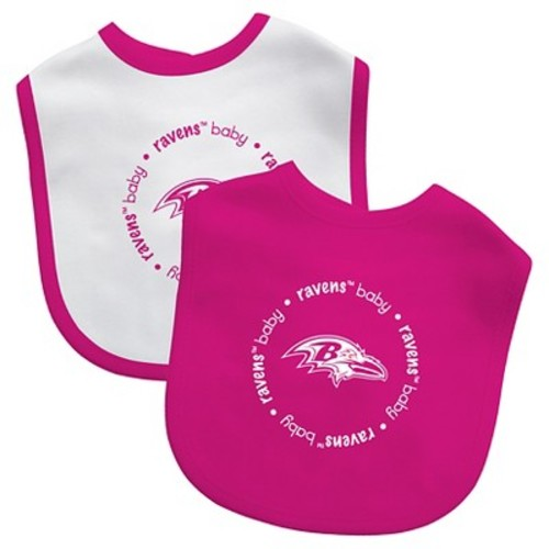 NFL Baby Fanatic Bibs Pink - 2 Pack