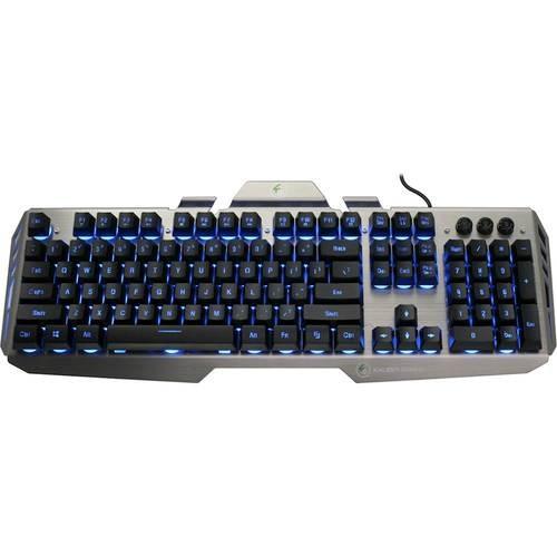 IOGEAR - Kaliber Gaming HVER Gaming Keyboard - Black/Gray