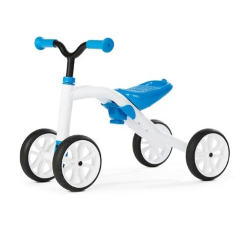 Chillafish Kid's Quadie Grow-With-Me Ride On Bike - Blue