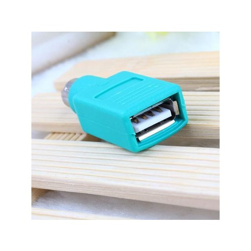 USB Male To For PS2 Female Adapter Converter for PC Computer Keyboard Mouse