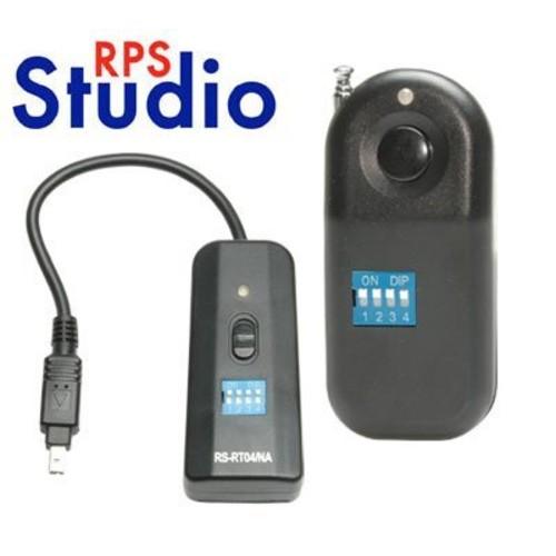 RPS Studio Wireless Radio Remote Release for Nikon D70S/D80 Digital SLR Cameras (Nikon 1 Pin)