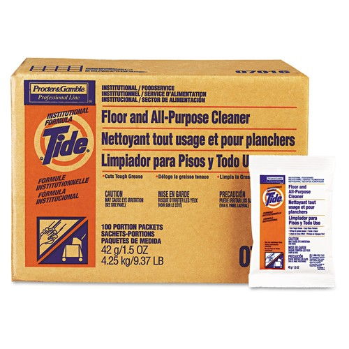 Tide Professional Floor and All-Purpose Cleaner, 36 lb. Box