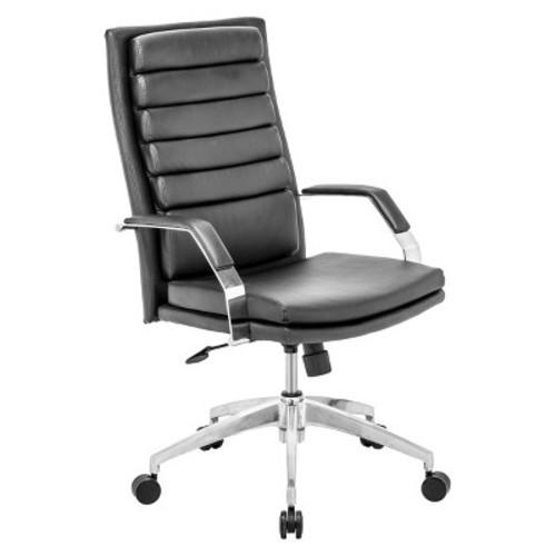 ZUO MODERN Director Comfort Office Chair, Black [Black]