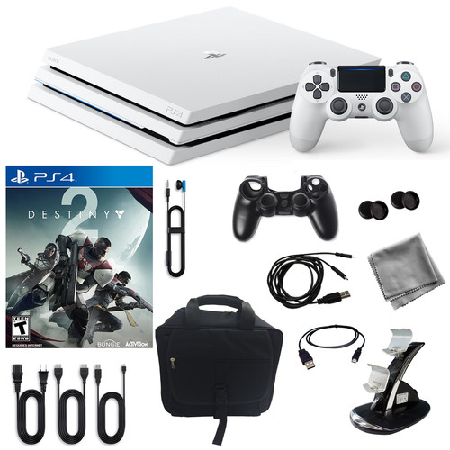 Sony PlayStation 4 Pro Limited Edition Destiny 2 1TB Limited Edition Console and Accessories