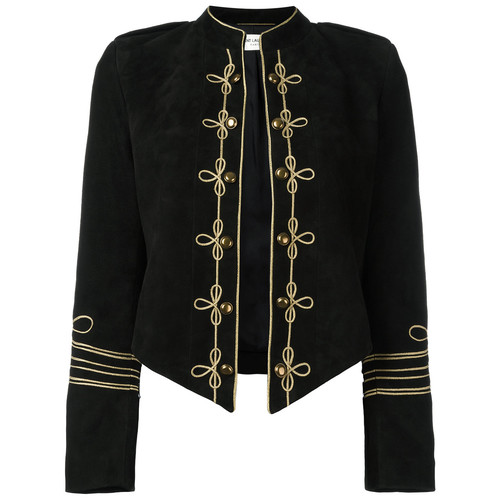 SAINT LAURENT Military Style Blazer