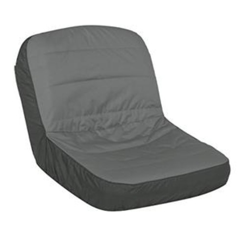 Classic Accessories 52-152-043201-RT Deluxe Riding Lawn Mower Seat Cover, Large