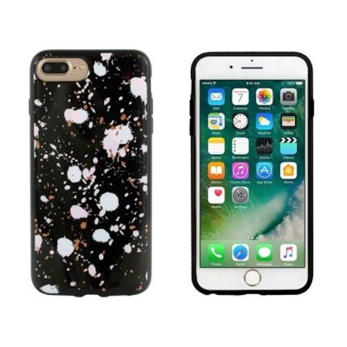 End Scene iPhone 8 Plus/7 Plus/6s Plus/6 Plus Case - Black Splatter Dots