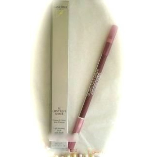 Lancome Le Lipstique Sheer Lip Liner Lipcolouring Stick with Brush in Sheer Plum