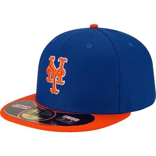 Era Men's New York Mets 59Fifty Diamond Era Alternate Royal Batting Practice Hat