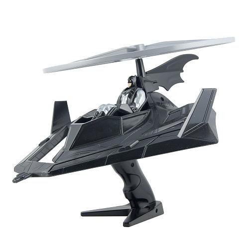 DC Comics Flying Heroes Deluxe Vehicle Launcher - Batman Batcopter