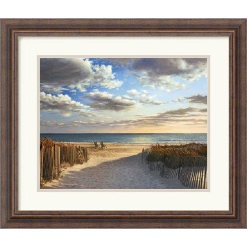 'Sunset Beach' by Daniel Pollera Framed Photographic Print