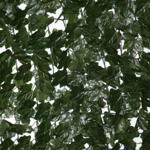 EZ-Ivy 10 ft. Wide x 5 ft. Tall Dramatic Danica Double Sided Ivy Roll