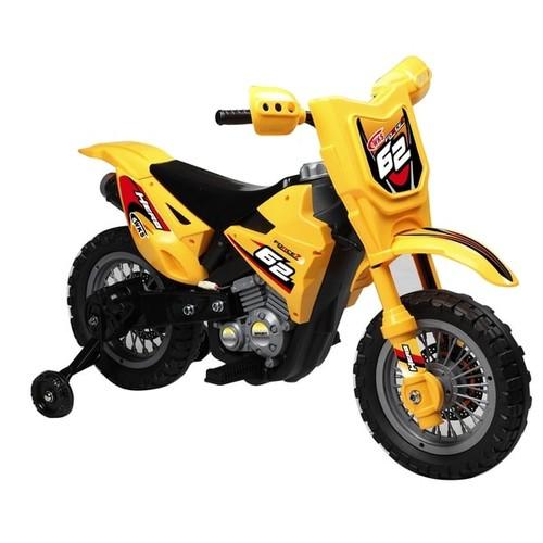 Yellow 6-volt Dirt Bike