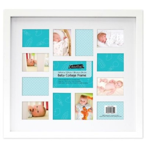 12-Month Baby Collage Frame