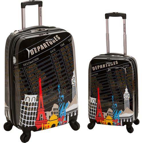Rockland Luggage Traveler 2 Piece Hardside Luggage Set
