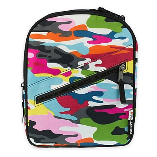 PACKiT Freezable Upright Lunch Box in Go Go