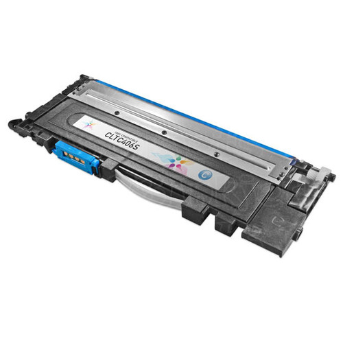 Compatible Replacement to Samsung CLT-C406S Cyan Laser Toner Cartridge (1K Page Yield)