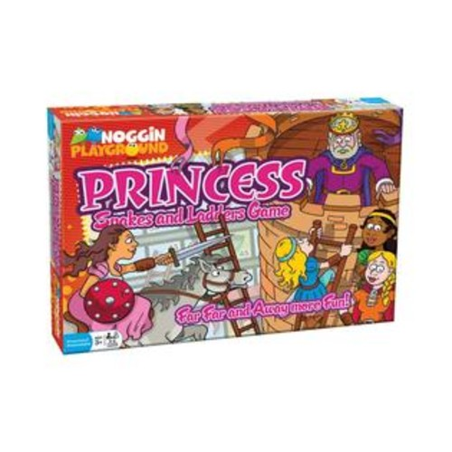 Outset Media Noggin Playground Princess Snakes and Ladders Game