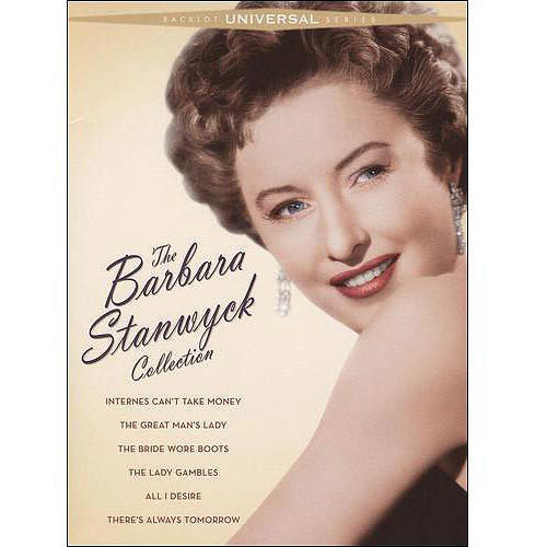 The Barbara Stanwyck Collection: (Internes Can't Take Money / The Great Man's Lady / The Bride Wore Boots / The Lady Gambles / All I Desire / and more)