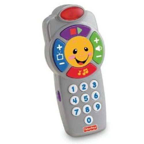 Fisher-Price Laugh & Learn Click 'n Learn Remote [Standard Packaging, retail_packaging]