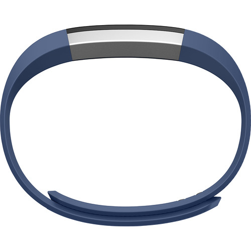 Fitbit - Alta Classic Accessory Band for Fitbit Alta Wireless Activity and Sleep Tracker - Blue