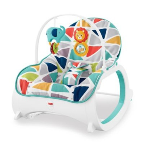 Fisher-Price Infant-to-Toddler Rocker in Geo Sails