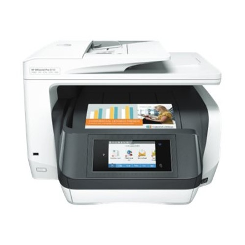 HP Inc. Officejet Pro 8730 All-in-One - Multifunction printer - color - ink-jet - Legal (8.5 in x 14 in) (original) - A4/Legal (media) - up to 37 ppm (copying) - up to 24 ppm
