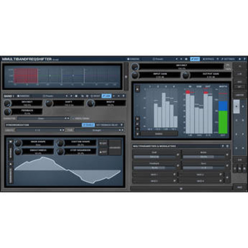 MMultiBandFreqShifter - Frequency Shifting Plug-In (Download)