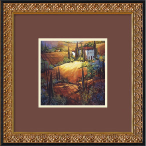 'Morning Light Tuscany' by Nancy O'Toole Framed Painting Print