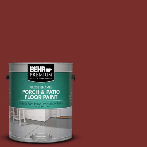 BEHR Premium 1 gal. #PPU2-2 Red Pepper Gloss Porch and Patio Floor Paint