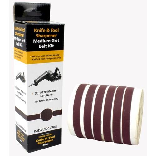 Drill Doctor Work Sharp WSSA0002704 220 Grit Belt Kit