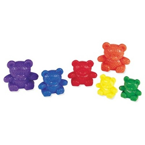 Learning Resources Three Bear Family Rainbow Counters, Set of 96