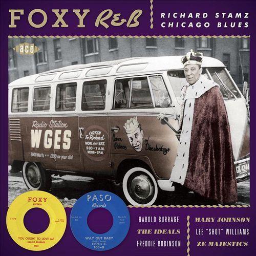 Foxy R&B: Richard Stamz Chicago Blues [CD]