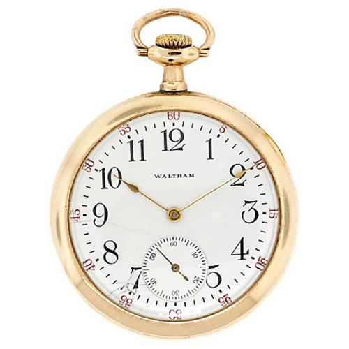 Waltham-Style Pocket Watch