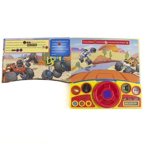 Blaze and the Monster Machines Axle City Steering Wheel Book