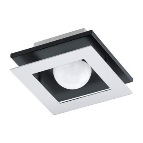 Eglo Bellamonte 1/2 ft. Brushed Aluminum and Black Track Lighting