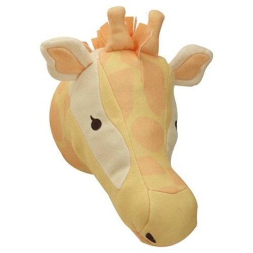 NoJo Zoobilee Plush Giraffe Wall Dcor