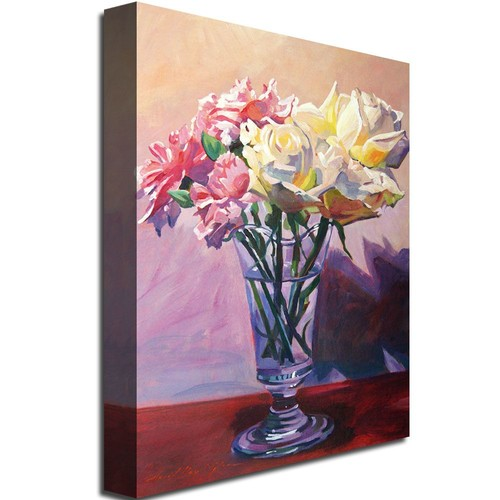 Trademark Global David Lloyd Glover 'Essence of Rose' Canvas Art [Overall Dimensions : 18x24]
