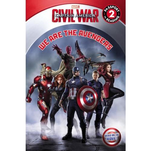 Marvel Captain America Civil War Reader