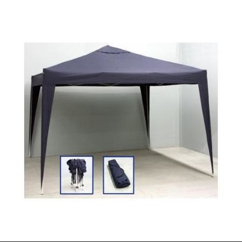 10' x 10' Navy Blue Outdoor Garden Party Stadium Folding Canopy Gazebo